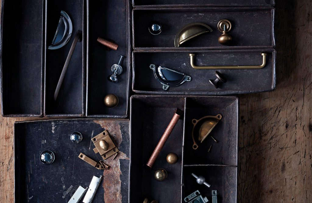 Designer hardware and fittings